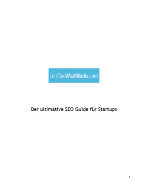 Der ultimative SEO Guide für Startups