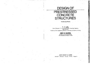 Design of Prestressed Concrete Structures (3rd Edition) - T Y Lin Ned H Burnspdf