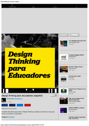Design thinking para educadores (español)pdf