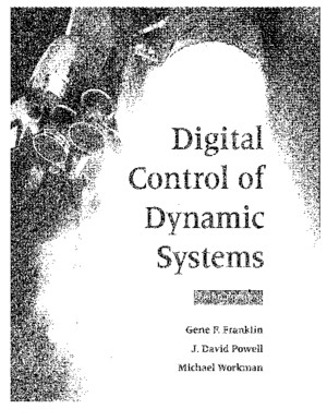 Digital Control of Dynamic Systems, Addisonpdf