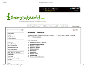 128 Keyboard Shortcuts for Windows 7pdf