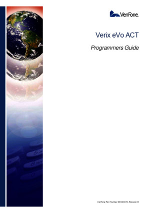 DOC00310 Verix EVo ACT Programmers Guide