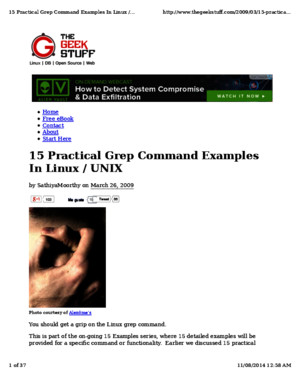 15 Practical Grep Examples in Linux Unix