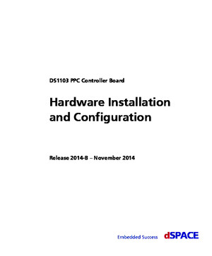 DS1103 Hardware