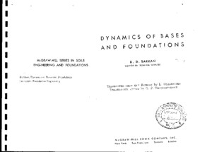 Dynamics of Bases and Foundations - DDbarkAN