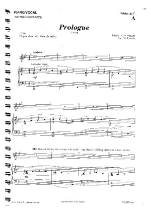 152356209 Sister Act the Musical Full Piano Vocal Score