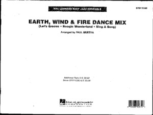 Earth, Wind Fire Dance Mix (Big Band)pdf