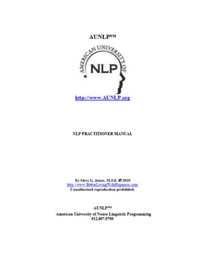 EasyNLP NLP Practitioner Manual