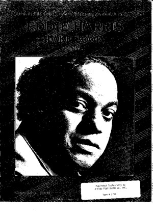 Eddie Harris Fake Book