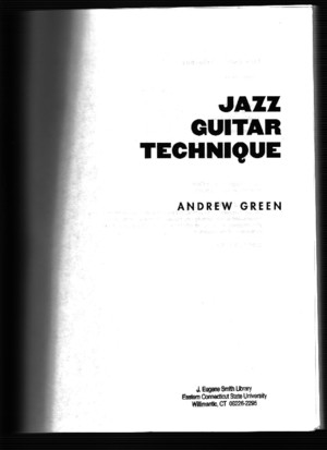 159709761 Andrew Green Jazz Guitar Technique