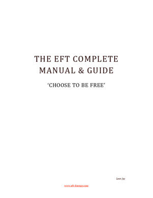 EFT Complete Manual and Guide