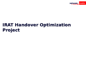 173312178 IRAT Handover Optimization Project