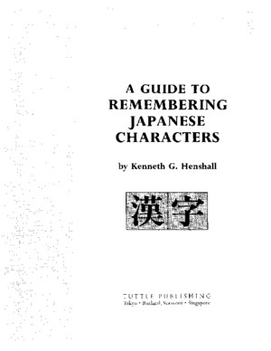 19A guide to remembering Japanese characterspdf