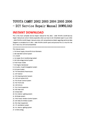 1990 toyota supra mk3 service repair factory manual instant download