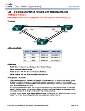 21210 Lab - Building a Switched Network with Redundant Links - ILMpdf