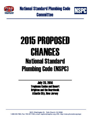 2015 NSPC Proposed Changes Bookpdf