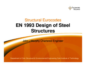 EN1993 Design of Steel Structures