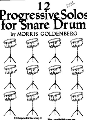 248158486 12 Progressive Solos for Snare Drum