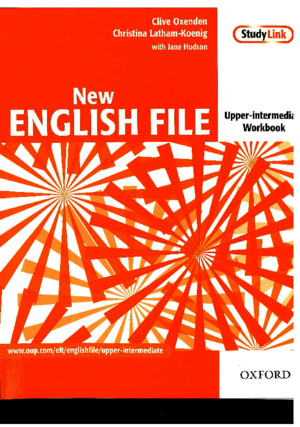 English File Upper Intermediate Workbook