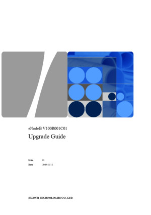 eNodeB Upgrade Guide