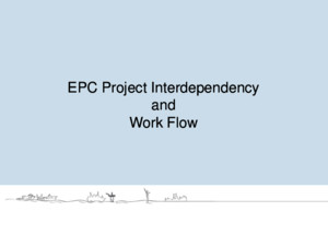 EPC_Project_Interdepency and Work Flow (1)pdf
