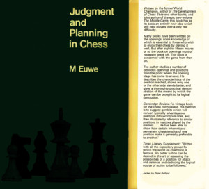 Euwe, Max - Judgement and Planning in Chesspdf