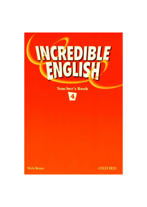 264515281 English Grammar Incredible English 4 Teacher s Book