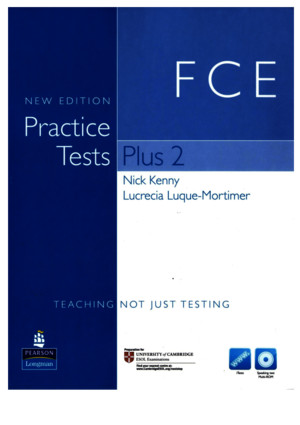 FCE Practicetests Plus2 Newedition