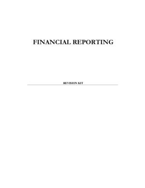 Financial Reporting Rkit