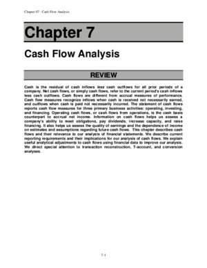 Financial statement analysis (tenth edition) solution for Ch_07pdf