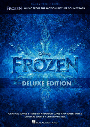 Frozen Music From the Motion Picture Soundtrack Deluxe Edition Sheet Music Book