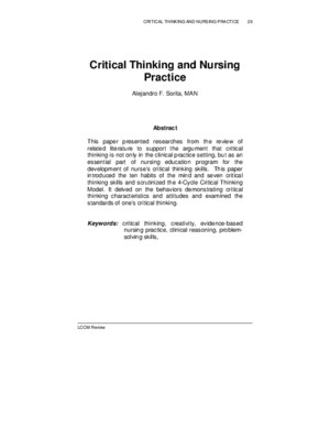 3-Critical Thinking Nursing