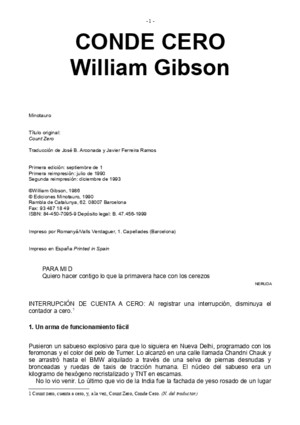 Gibson William - Conde Ceropdf