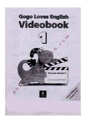 Gogo Loves English Video Book1