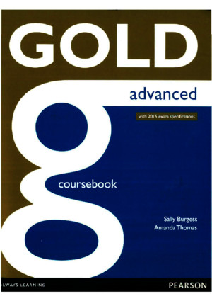 Gold Advanced Coursebookpdf