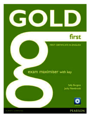 Gold First Exam Maximiser Workb 2015