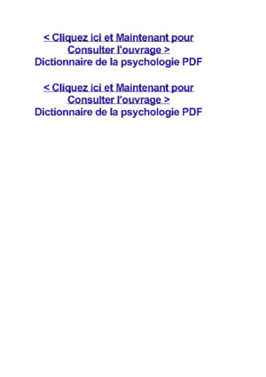 Grand Dictionnaire de la psychologie PDFpdf