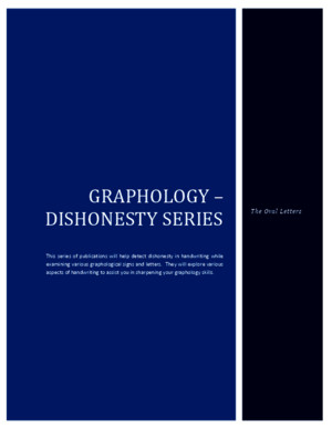 Graphology - The Dishonesty Series - Ovalspdf