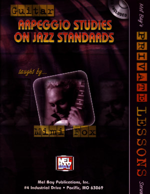 Guitar Arpeggio Studies on Jazz Standards_Mimi-Fox