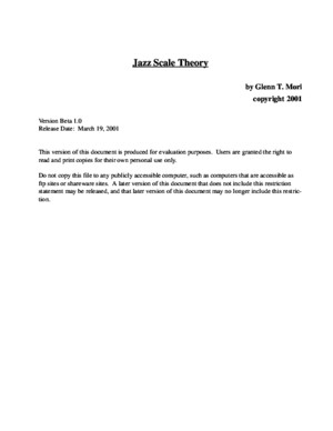 Guitar - (Book) Jazz Scale Theory