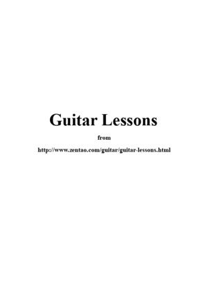 Guitar Lesson Plan