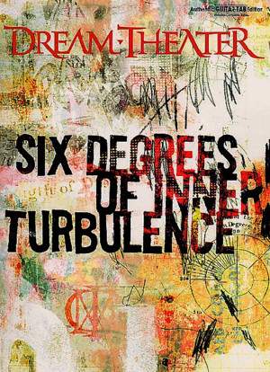 Guitar - Tab Book - Dream Theater - Six Degrees of Inner Turbulence