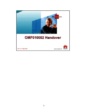 Handover-Training-Huaweipdf