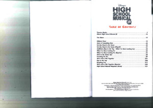 High School Musical Script Score