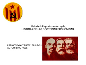 Historia de Las Doctrinas Economicas Eric Roll Polaco Parte 101