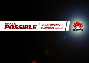 Huawei Make It Possible Logo Guidelinespdf