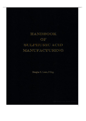 39460552 Handbook of Sulphuric Acid Manufacturing