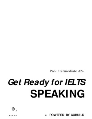 [huyhuucom]Get Ready for IELTS Speaking Pre-Intermediate A2+ (ORG)