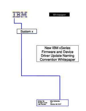 Ibm Naming Convention