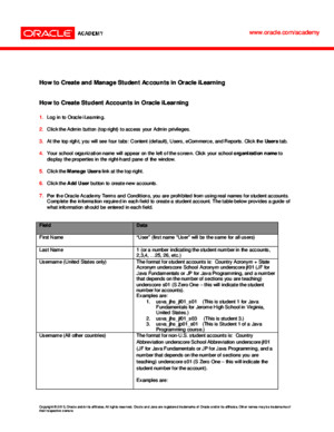 ICS ILearning Student Account Management v1